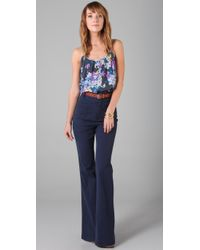 Tucker - Blue Smocked Camisole - Lyst