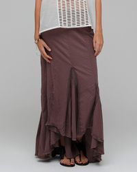 Free People | Brown Morning Glory Godet | Lyst