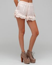 Free People - Natural The Ruffle Bloomers - Lyst
