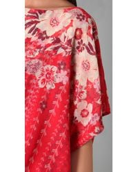 Karen Zambos | Red Dani Dress | Lyst