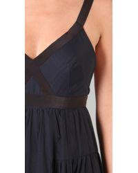 Marc By Marc Jacobs | Blue Rex Stripe Dress | Lyst