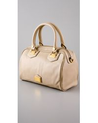 Marc By Marc Jacobs | Natural Snappy Satchel | Lyst