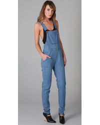 Bec & Bridge - Blue Amelie Chambray Overalls - Lyst