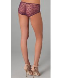 Kiki de Montparnasse | Purple Ingenue Boy Shorts | Lyst