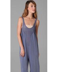 Nightcap - Blue Monokini Jumpsuit - Lyst