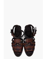 Rag & Bone - Black Aiden Sandals - Lyst