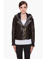 A.L.C. | Black Helven Jacket | Lyst