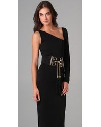 DSquared² - Black Asymmetrical Gown - Lyst