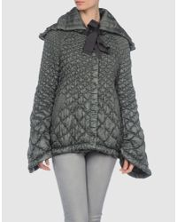 Ermanno Scervino | Green Down Jacket | Lyst