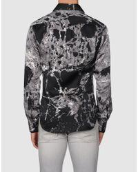Just Cavalli - Black Shirt - Lyst