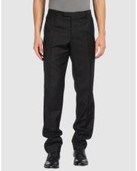 Lanvin - Black Zipped Jogger Pants for Men - Lyst