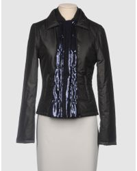 Love Moschino | Black Casual Jacket | Lyst