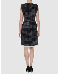 Vionnet | Black Short Dress | Lyst