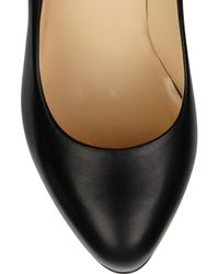 Christian Louboutin - Black Big Stack 120 Leather Pumps - Lyst