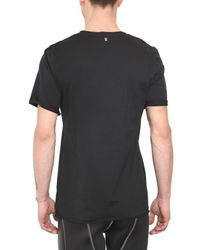 Neil Barrett - Black Printed T-shirt for Men - Lyst