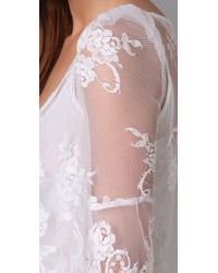 Pencey   White Lace Tunic   Lyst