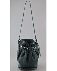 Alexander Wang | Green Diego Bucket Bag | Lyst