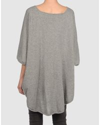 Lutz & Patmos - Gray Cashmere Sweater - Lyst