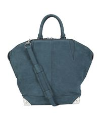 Alexander Wang | Blue Emerald Emile Tote Bag | Lyst