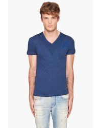 G-Star RAW | Blue Singer V T-shirt for Men | Lyst