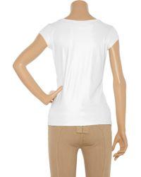 Dolce & Gabbana - White Ladies Tank Top - Lyst