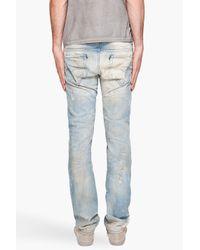 DIESEL - Blue Thavar 880m Straight Fit Jeans for Men - Lyst