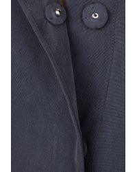 IRO | Blue Mizra Brushed-silk Top | Lyst