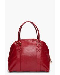 Marc Jacobs - Red Abbey Bowler Satchel - Lyst