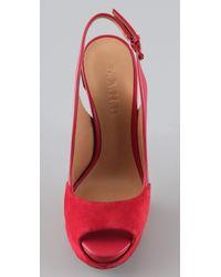 L.A.M.B. | Red Nomad Heels | Lyst