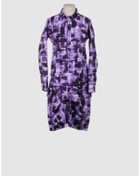 Marni | Purple Knee-length Dress | Lyst