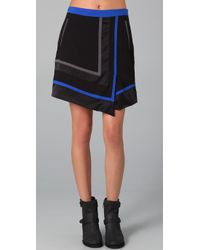 Rag & Bone | Black Henbury Skirt | Lyst