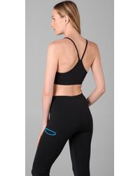 David Lerner - Black Sport Workout Bra - Lyst