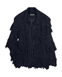 Camilla & Marc | Blue Knitted Wool-blend Cardigan | Lyst