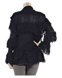 Camilla & Marc | Blue Knitted Wool-blend Cardigan | Lyst