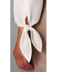 Equipment - White Harper Silk Blouse - Lyst