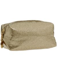Juicy Couture | Metallic Glitter Small Cosmetic Bag | Lyst