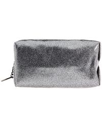 Juicy Couture - Metallic Glitter Small Cosmetic Bag - Lyst