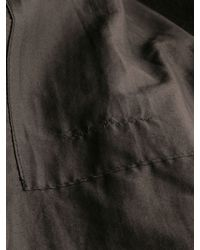 Rick Owens - Black Mens Padded Wool Jacket for Men - Lyst