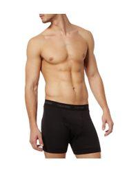 Calvin Klein | Black Two Pack Boxer Briefs for Men | Lyst