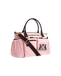 Juicy Couture | Pink Baby Bag | Lyst