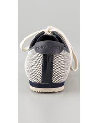 Tory Burch - Blue Murphey Sneaker - Lyst