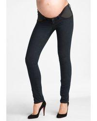 J Brand | Blue Maternity Leggings | Lyst