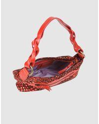 Just Cavalli - Red Medium Fabric Bag - Lyst