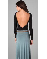 Rachel Pally - Black Jersey Bodysuit - Lyst