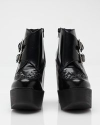 Jeffrey Campbell | Black Busted Platform | Lyst