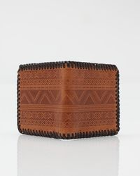 RVCA - Brown Tribal Wallet for Men - Lyst