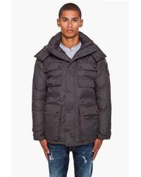 Canada Goose | Gray Manitoba Jacket for Men | Lyst