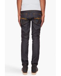 Nudie Jeans - Gray Thin Finn for Men - Lyst