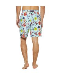 Vilebrequin - Blue Moorea Shark Swim Shorts for Men - Lyst