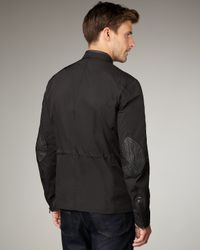 Elie Tahari - Black Quentin Zip Jacket for Men - Lyst